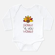 Gobble Long Sleeve Infant Bodysuit