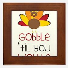 Gobble Framed Tile