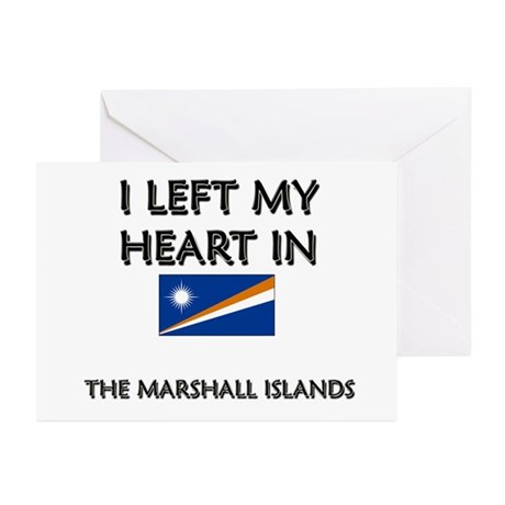 I Left My Heart In The Marshall Islands Greeting C