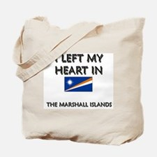 I Left My Heart In The Marshall Islands Tote Bag