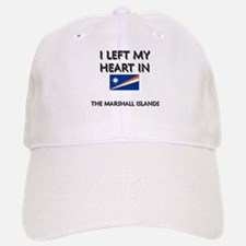 I Left My Heart In The Marshall Islands Baseball Baseball Cap