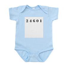 Prisoner 24601 Infant Bodysuit