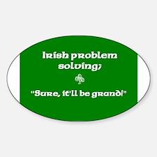 Irishproblemsolvingcafe.jpg Decal