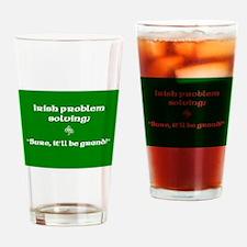 Irishproblemsolvingcafe.jpg Drinking Glass