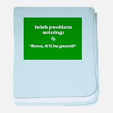 Irishproblemsolvingcafe.jpg baby blanket