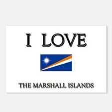I Love The Marshall Islands Postcards (Package of