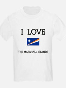 I Love The Marshall Islands Kids T-Shirt