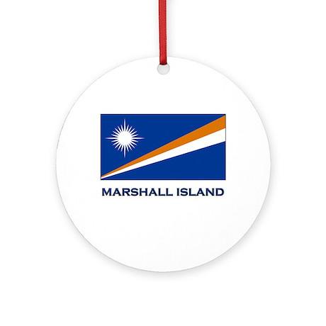 The Marshall Islands Flag Merchandise Ornament (Ro