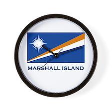 The Marshall Islands Flag Merchandise Wall Clock
