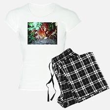 Hiding Wild Rabbit Pajamas