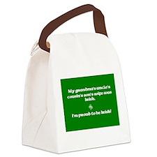 grandmacafe.jpg Canvas Lunch Bag