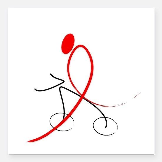 Plain Red Ribbon Rider No Background.jpg Square Ca