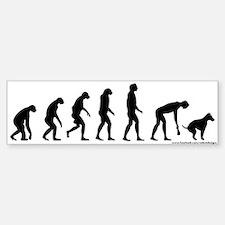 Rise of Dog Owner Bumper Bumper Sticker