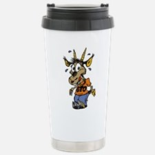Cute Goat soup Travel Mug