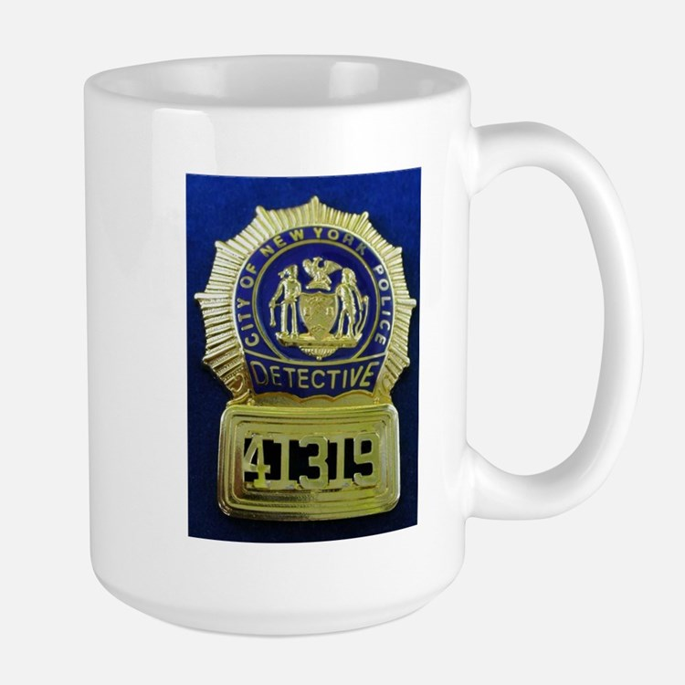 Detective Kate Beckett Large Mug