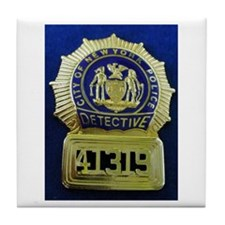 Detective Kate Beckett Tile Coaster