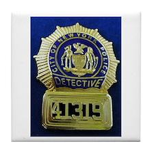 Detective Kate Beckett Tile Coaster