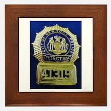 Detective Kate Beckett Framed Tile