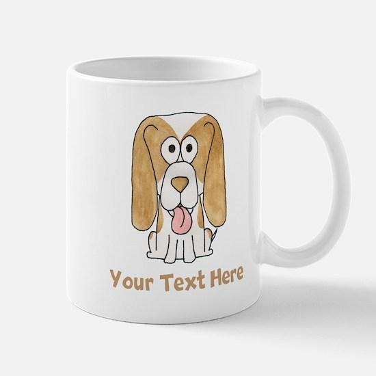 Beagle and Custom Text. Mug