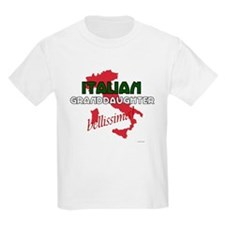Italian Granddaughter Kids T-Shirt