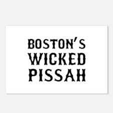 Boston Wicked Pissah Postcards (Package of 8)