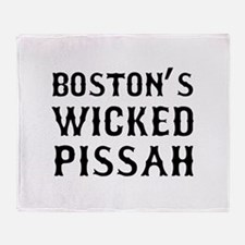Boston Wicked Pissah Throw Blanket