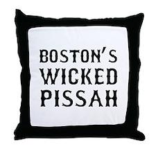 Boston Wicked Pissah Throw Pillow