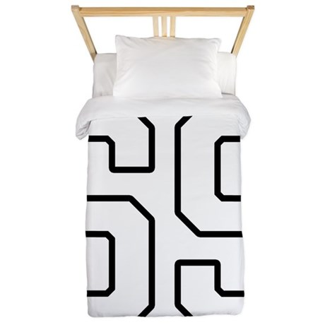 Number 69 Twin Duvet By Thegraphicsking