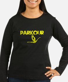 Parkour Flyer, Yellow, T-Shirt