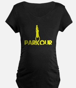 Parkour, Yellow, Stand Up! T-Shirt