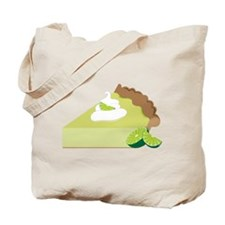 Key Lime Pie Tote Bag