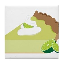 Key Lime Pie Tile Coaster