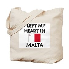 I Left My Heart In Malta Tote Bag
