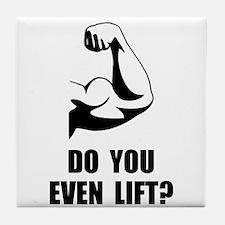 Do You Even Lift Tile Coaster