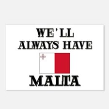 We Will Always Have Malta Postcards (Package of 8)