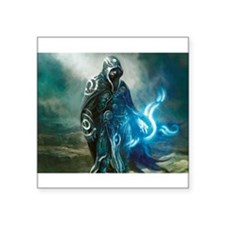 """Jace The Planeswalker Square Sticker 3"""" x 3"""""""