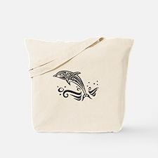 Dolphine Design Tote Bag