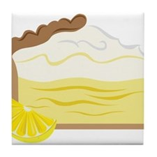 Lemon Pie Tile Coaster