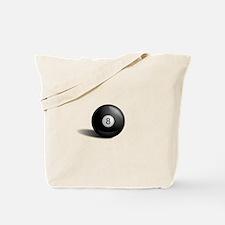 Eight Ball Pool Tote Bag