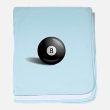 Eight Ball Pool baby blanket