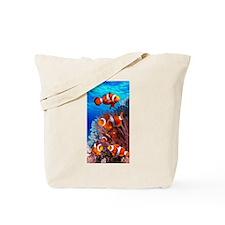 CLOWN NEMO CORAL REEF Tote Bag
