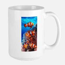 CLOWN NEMO CORAL REEF Large Mug
