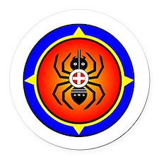 CHEROKEE WATER SPIDER Round Car Magnet