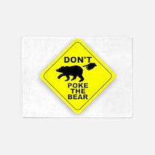 Dont Poke The Bear 5'x7'Area Rug