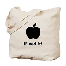 iFixed It Apple Tote Bag