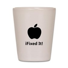 iFixed It Apple Shot Glass
