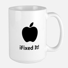 iFixed It Apple Large Mug