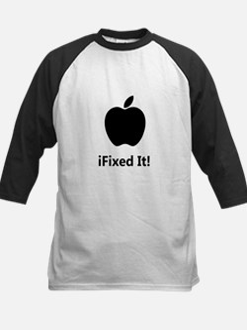 iFixed It Apple Kids Baseball Jersey