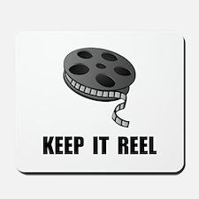 Keep Movie Reel Mousepad
