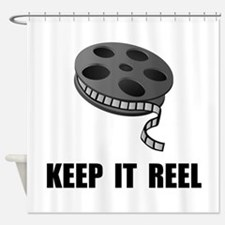 Keep Movie Reel Shower Curtain